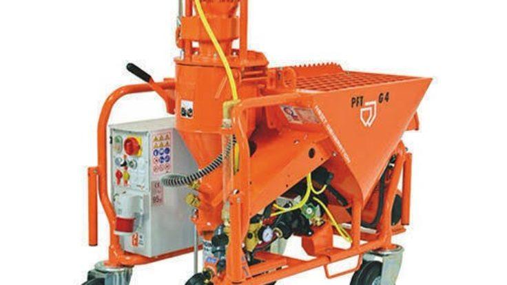 PFT G4 ماكينة التمليط